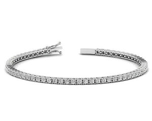 2-50Carat-Round-Brilliant-Cut-Diamond-Tennis-Bracelet-in-White-Gold-Hallmarked