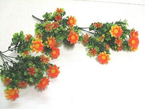 Details Zu Deko 6 Margeritten Busch Künstlich Kunstblumen Basteln Blumen Floristik Wie Echt
