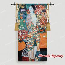 """68 x 140cm Gobelin Wandbehang Wandteppich """"The Dancer"""" - Gustav Klimt"""
