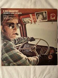 "JERRY LEE LEWIS-I-40 Country- 12"" Vinyl Record LP - EX"