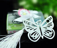 BUTTERFLY BOOKMARK Metal Book Marker Reader Reading Mark Birthday Wedding Gift