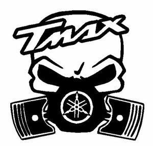 Calavera-yamaha-t-max-Tuning-sticker-auto-Fun-pegatinas-sticker-Bomb-10CM-tmax