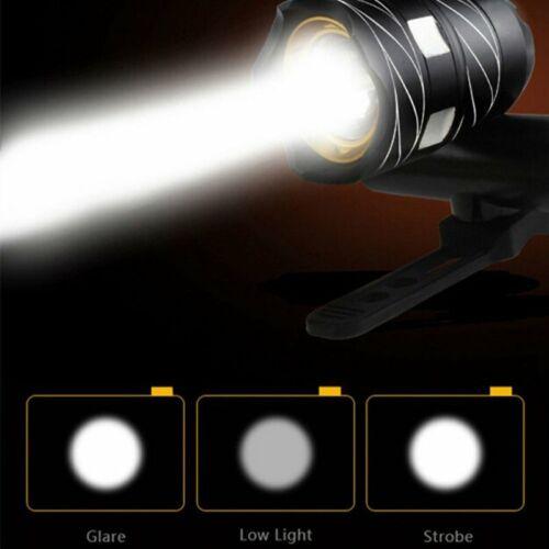 3000LM XML T6 LED Fahrradbeleuchtung Lampe Scheinwerfer Stirnlampen Licht USB DE
