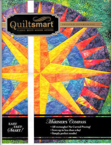 MARINER/'S COMPASS CLASSIC PACK QUILTING PATTERN From Quiltsmart NEW