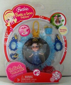 Barbie Peek A Boo Petites Snowflake Flurries Collection 34 So Much