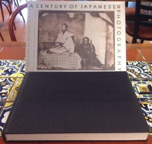 A-Century-Of-Japanese-Photography-1980-1st-US-Edition-HC-SLIP-CASE-Free-Shipping