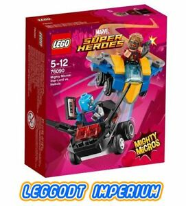 LEGO-Marvel-Mighty-Micros-Star-Lord-vs-Nebula-76090-sealed-FREE-POST