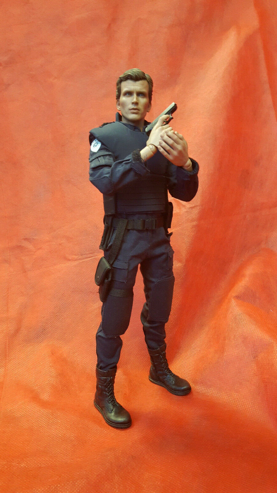 1 6 RoboCop (Battle Damaged Version) & Alex Murphy ALEX MURPHY FIGURE ONLY JC
