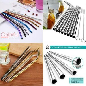 Colorful-Reusable-Drinking-Straw-High-Quality-304-Stainless-Steel-Metal-Straw