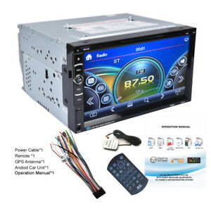 Autoradio-6-95-034-2-DIN-Bluetooth-Stereo-MP5-GPS-Navigatore-Touch-Screen-USB-FM