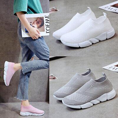 Accurato Womens Calzare Scarpe Ginnastica Comodo Calzino Sneakers Running Scarpe Sportive Crease-Resistenza