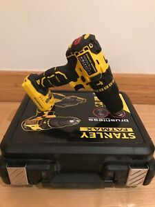 STANLEY-FATMAX-FMC628-BRUSHLESS-18V-LI-ION-COMBI-DRILL-BODY-ONLY-WARRANTY