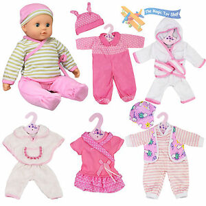 New Born Baby Doll Set Of 6 Outfits 12 16 Quot Baby Dolls
