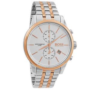 Hugo Boss Jet Rose Gold Stainless Steel Chronograph Quartz Men S