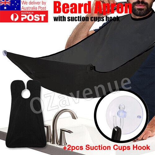 Men's Facial Hair Beard Apron Care Shave Cape Bib Whisker Trimming Catcher Cloth