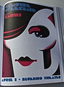 Vampire-Weekend-Mini-Concert-Poster-Reprint-for-Denver-CO-Concert-Gig-14x10