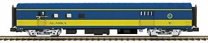20-68256 Alaska 70' ABS RPO Passenger Car (Smooth) MTH