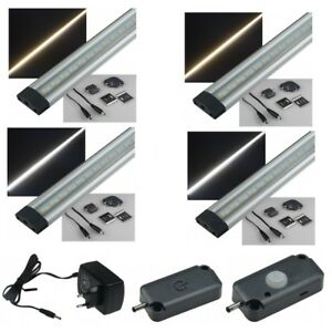 lichtleiste smd led unterbauleuchte k chenleuchte leuchte tageslicht warm wei ebay. Black Bedroom Furniture Sets. Home Design Ideas