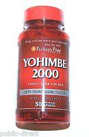2 Bottles Yohimbe 2000mg Mens Sexual Enhancement Male Performance Capsules Pills