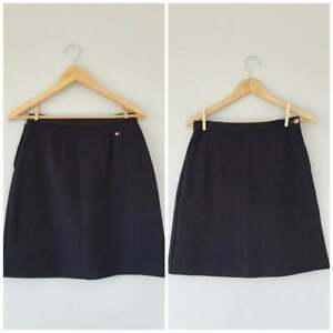 Vintage-Tommy-Hilfiger-Black-School-Girl-Skirt-Size-6