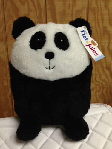 "Nat /& Jules by Demdaco 9.5/"" Plush Domers Panda /""Remy/"" #N00335"