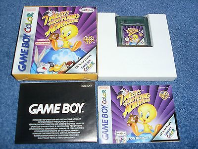 Tweety's High Flying Adventure - Nintendo Game Boy Color - Complete - Colour
