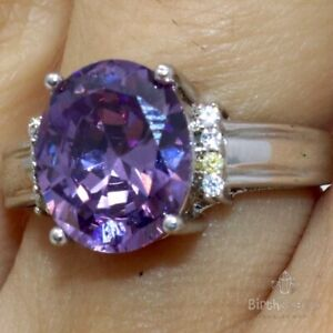 2-5-Ct-Oval-Purple-Amethyst-Solitaire-Ring-Women-Wedding-Jewelry-14K-Gold-Plated