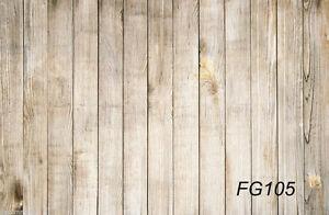 Retro Wood Floor Vinyl photography background backdrop studio props 5X3FT FG105
