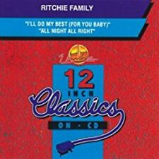 I'Ll Do My Best/All Night Right [IMPORT] by Ritchie Family (Jan-2001, Unidisc)