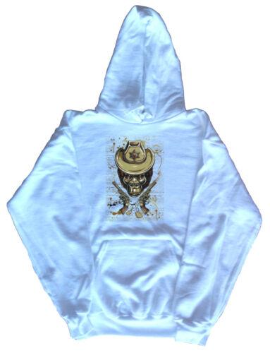 Monkey Cowboy Sheriff Graphic Hoodie Sweatshirt