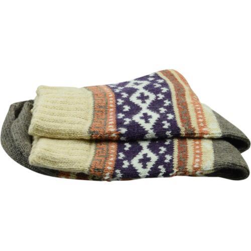 cosey dicke Socken Norweger beige 33-40 4 Paar Baumwolle atmungsaktiv weich