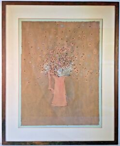Listed Gay Artist Paul Fisher Signed Watercolor & Gouache ...