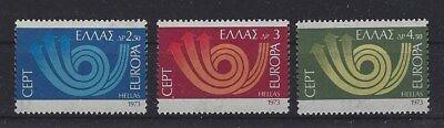 Nett V2525 Cept 1973/ Griechenland Minr 1147/49 ** Cept/europa Union & Mitläufer