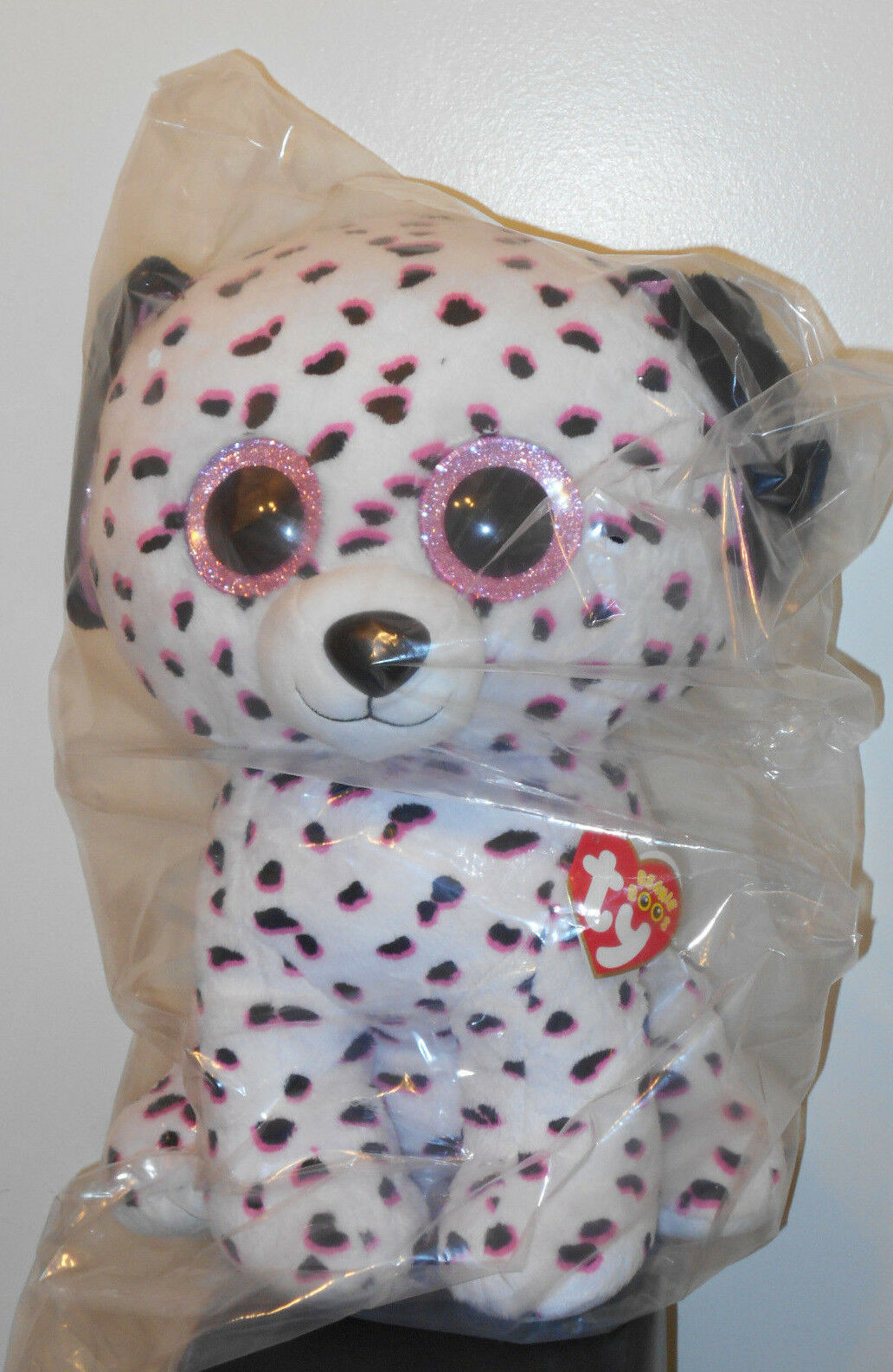 Ty 18  LARGE   JUMBO Beanie Boos  GEORGIA the Dog  Claires Exclusive  MWMT'S