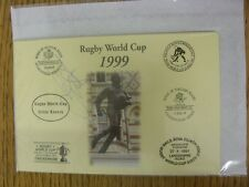 1999 Copa Mundial de rugby Postal: mano firmada por West, Dorian [Copa del Mundo son Lay Lau