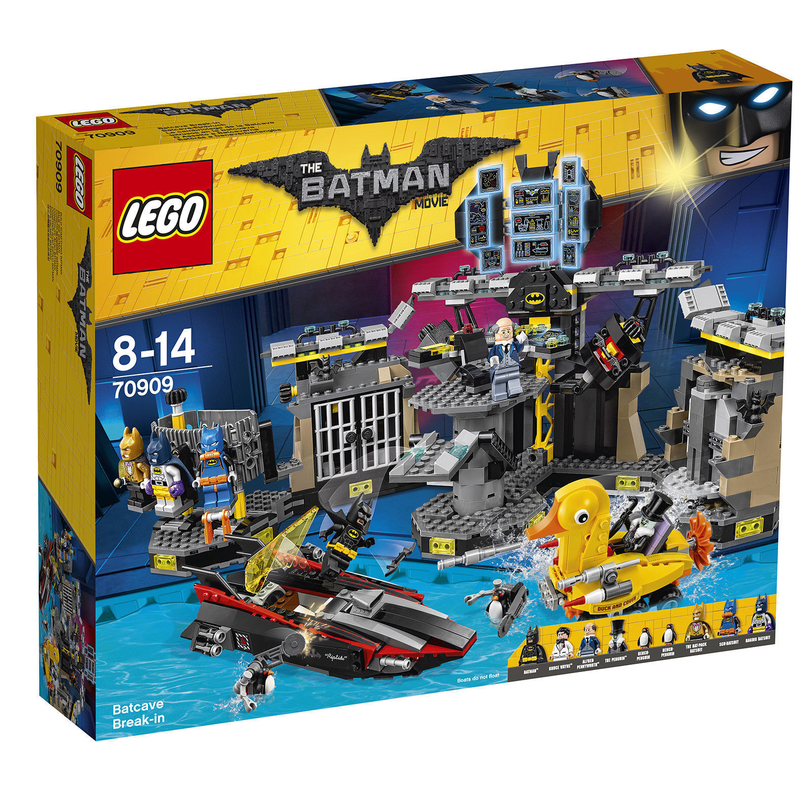 LEGO  70909 Batcave Break-in - BATMAN MOVIE - BRAND NEW RETIRED