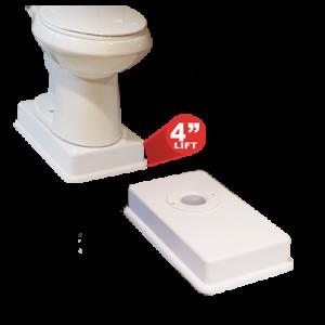 Medway Standard Toilet Riser Raises Your Standard Toilet