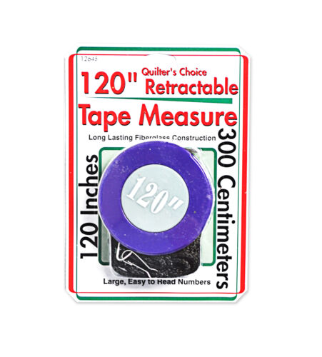 Quilter/'s Choice 120in Retractable Tape Measure