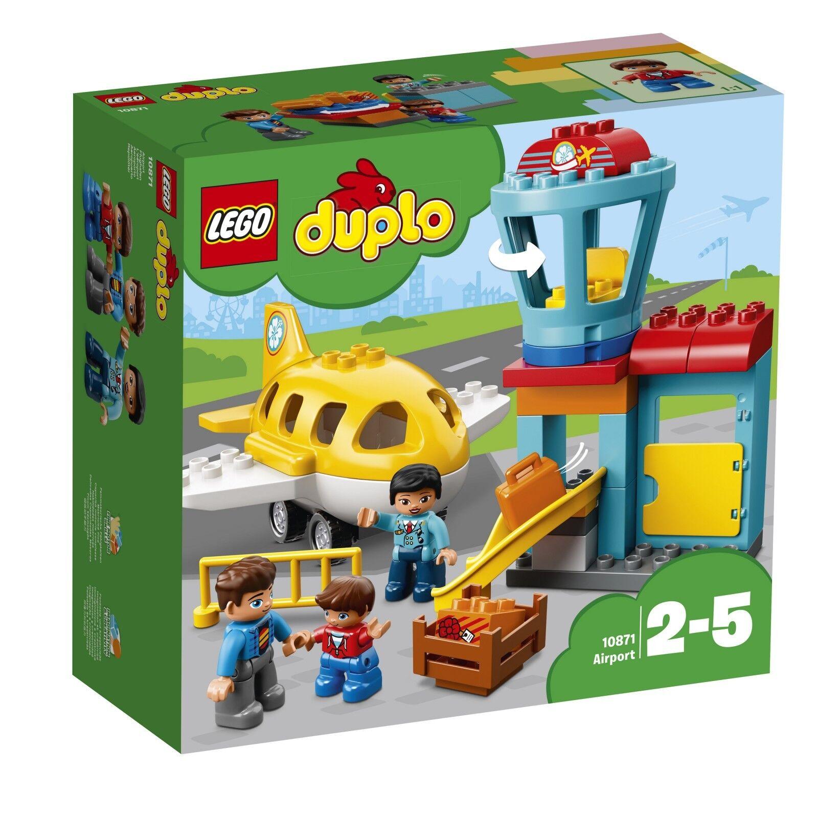 LEGO ® DUPLO ® 10871 aéroport Nouveau neuf dans sa boîte _ Airport NEW En parfait état, dans sa boîte scellée Boîte d'origine jamais ouverte