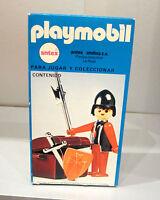 Playmobil 3334 ANTEX Argentinien Ritter mit Truhe OVP MISB