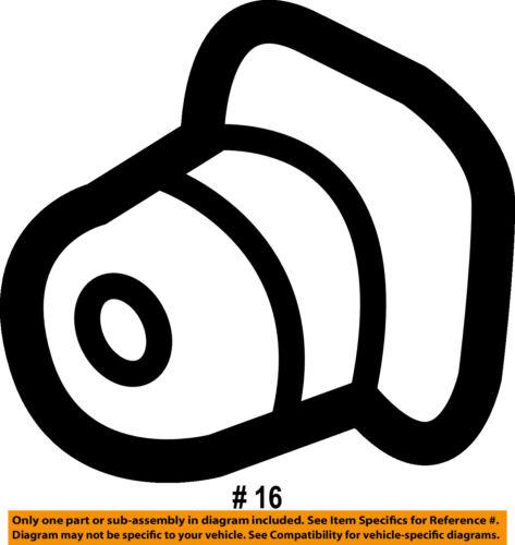 TOYOTA OEM 04-10 Sienna Front Bumper-Side Support Grommet 9018906151