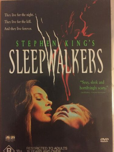1 of 1 - SLEEPWALKERS - DVD R4 (VERY RARE) - Brian Krause, Madchen Amick - Free Post!!