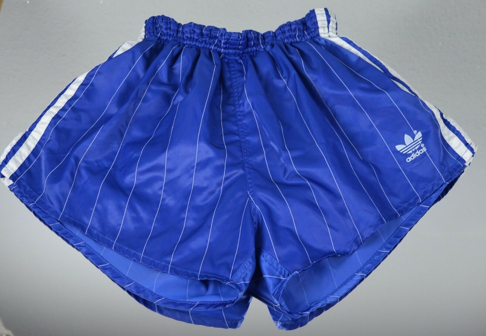 d808ba055e0238 ADIDAS Glanz Nylon Vintage Shorts Shorts Shorts Made in W-Germany blau Gr.  7 (L) (1374) 67e1fe