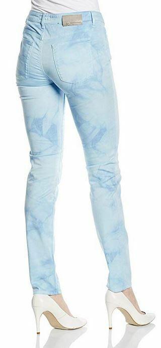 Tru Trussardi Jeans Donna sky sky sky blu slim fit Jeans taglia 27 b2c331