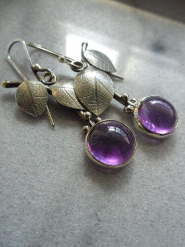 Details about  /Elegant 925 Silver Leaf Earrings Moonstone Ear Hook Drop Dangle Wedding Jewelry