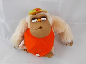 Dan-Dee-Imports-Gorilla-Ape-Monkey-In-Hat-5-034-Tall-1980-Stuffed-Animal