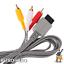 Nintendo-Wii-TV-Kabel-AV-Fernsehkabel-Chinch-3-RCA-Anschluss-fuer-Scart-Wii-U Indexbild 3