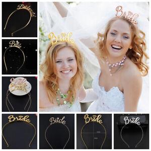 Bride-Bridesmaid-Bridal-Shower-Hen-Party-Tiara-Crown-Bachelorette-Party-Supplies