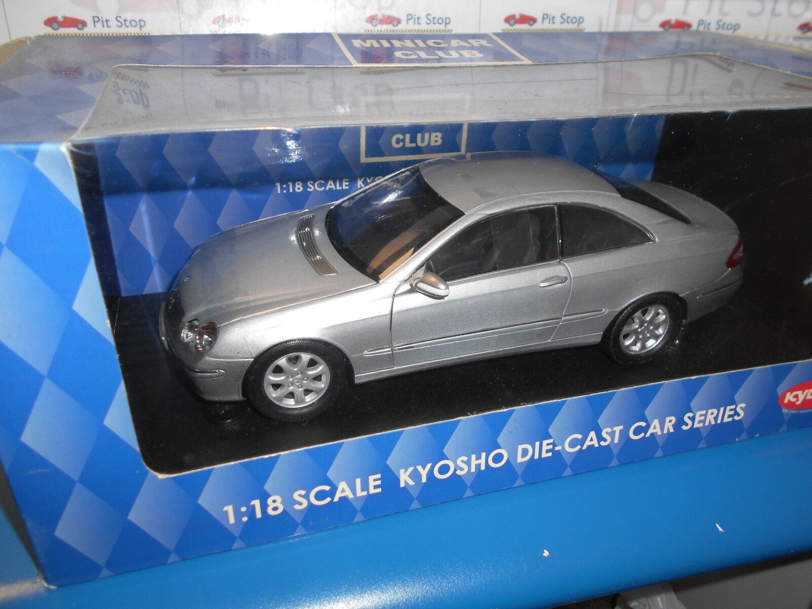 KYO09001S by KYOSHO Mercedes-Benz CLK Coupe 1 18