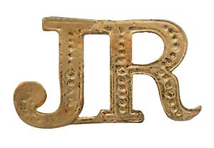 JR Junior Gilded Abbreviation For Orange Order Collarette